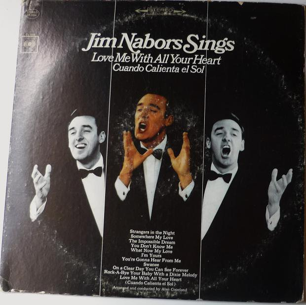 Jim Nabors Sings Love Me With All Your Heart lp- Stereo