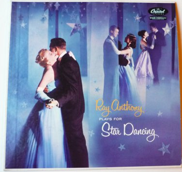 Ray Anthony Plays For Star Dancing lp