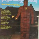 Psychology Today Magazine January 1975