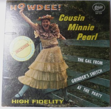 Howdee lp by Cousin Minnie Pearl