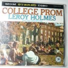 College Prom lp by Leroy Holmes