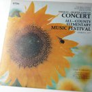 Twenty-eighth Annual Concert All-county Elementary Music Festival 1977