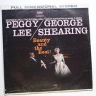 Beauty and The Beat lp by Peggy Lee and George Shearing