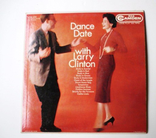Dance Date with Larry Clinton lp by Same