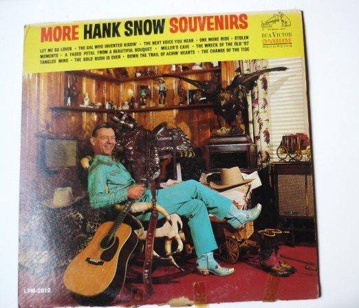 More Hank Snow Souvenirs lp LPM2812