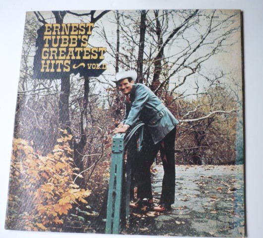 Ernest Tubbs Greatest hits lp Vol II