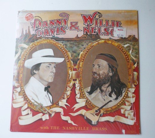 Danny Davis and Willie Nelson lp with the Nashville Brass
