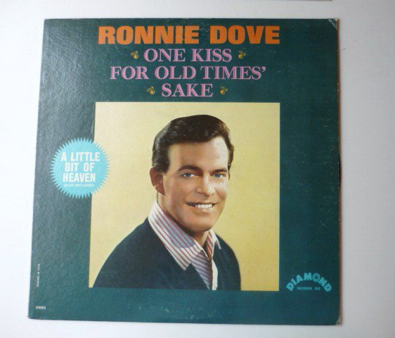 One Kiss for Old Times Sake lp by Ronnie Dove d5003 One Owner