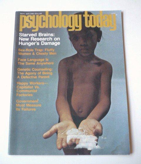 Psychology Today Magazine September 1975