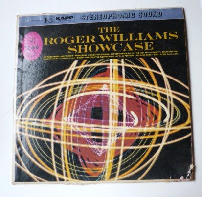 The Roger Williams Showcase lp Stereo