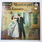 Waltz Encores lp by Mantovani