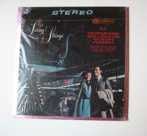On A Sentimental Journey lp by Living Strings