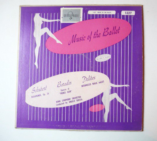 Music of the Ballet Schubert Borodin Delibes lp
