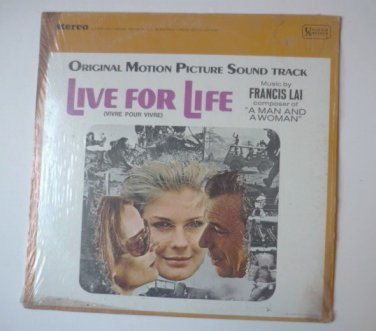 Live For Life lp by Francis Lai