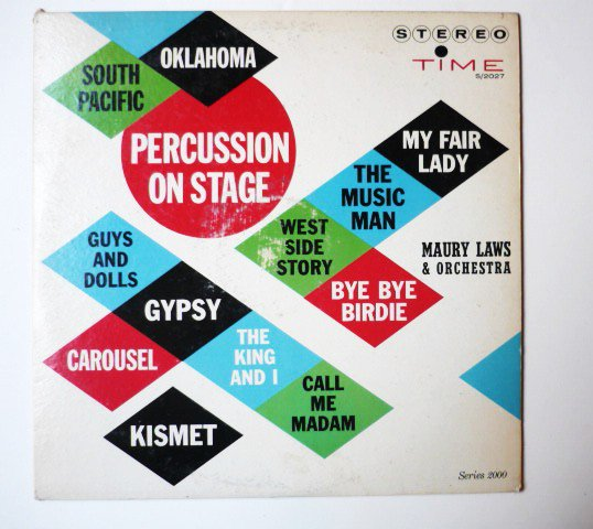 Percussion On Stage lp by Maury Laws and his Orchestra
