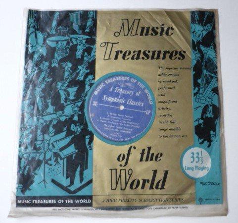 Music Treasures of the World A Treasury of Symphonic Classics lp