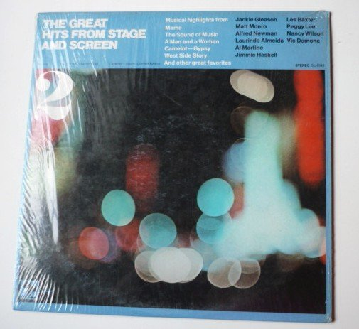 The Great Hits From Stage and Screen Volume 2 lp by Various