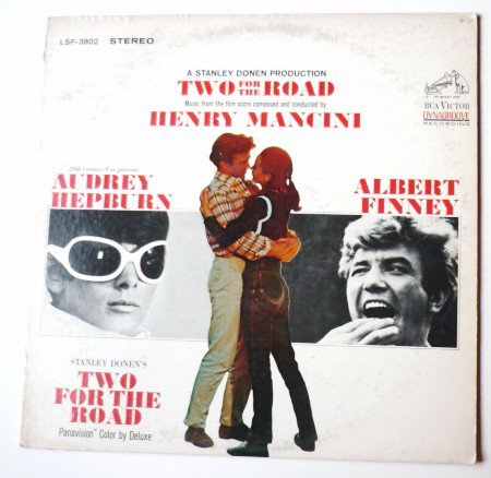 Two For The Road Soundtrack lp by Henry Mancini