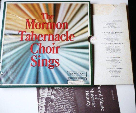 The Mormon Tabernacle Choir Sings Boxed lp Set