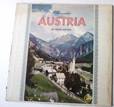 I Remember Austria Volume 2 lp Die Fidelen Inntaler