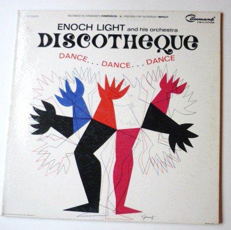 Enoch Light Discotheque Dance Dance Dance lp
