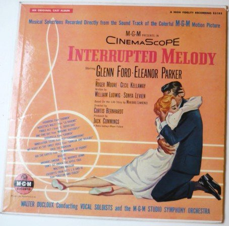 Interrupted Melody lp with Walter Ducloux - MGM