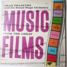 Music From the Great Films lp by Dean Franconi