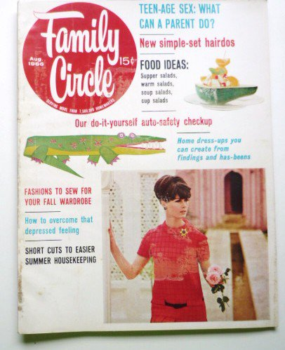 Family Circle Magazine August 1966