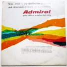 Admiral Quality Solid State Stereo lp