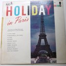 Holiday in Paris lp by the Paris Left Bank Musicians