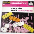 Song Hits from Theatreland lp by Mantovani