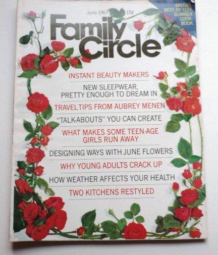 Family Circle Magazine June 1967