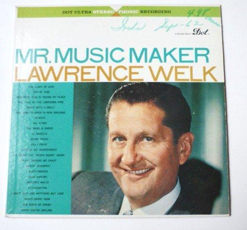 Mr Music Maker lp by Lawrence Welk - Stereo