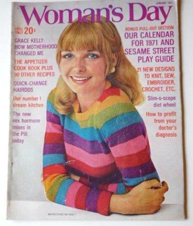 Womans Day Magazine January 1971