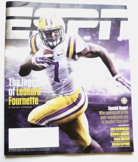 Espn Magazine November 9 2015 - Leonard Fournette Cover
