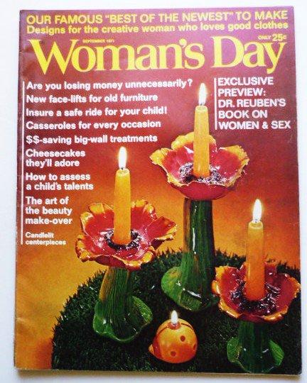 Womans Day Magazine September 1971