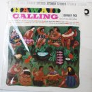 Johnny Poi And His Surfboarders - Hawaii Calling lp