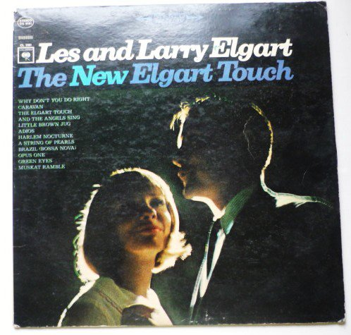 The New Elgart Touch lp by Les and Larry Elgart