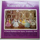 50 Great Moments of Music Album No 1 Double lp
