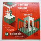 Rossini-Respighi la Boutique Fantasque and Carnaval lp