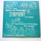 Dittersdorf: Symphony in A Minor lp Rondo for Piano and Orchestra