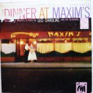 Dinner at Maxims lp by Leo Chauliac