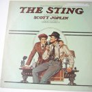 The Sting lp - Paul Newman Robert Redford and Robert Shaw mca-390