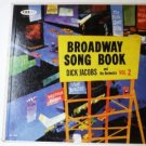 Broadway Song Book lp by Dick Jacobs Vol 2