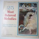 25 Most Beloved Melodies lp fby Various Original Artists