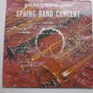 Clarence Elementary Schools Spring Band Concert lp 1964