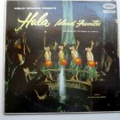 Webley Edwards Presents Hula Island Favorites lp