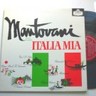 Italia Mia lp by Mantovani and His Orchestra