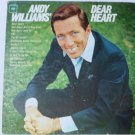 Andy Williams Dear Heart Mono cl2338 lp