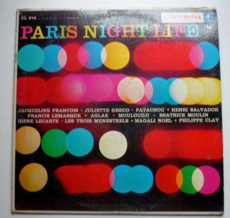 Paris Night Life lp by Various